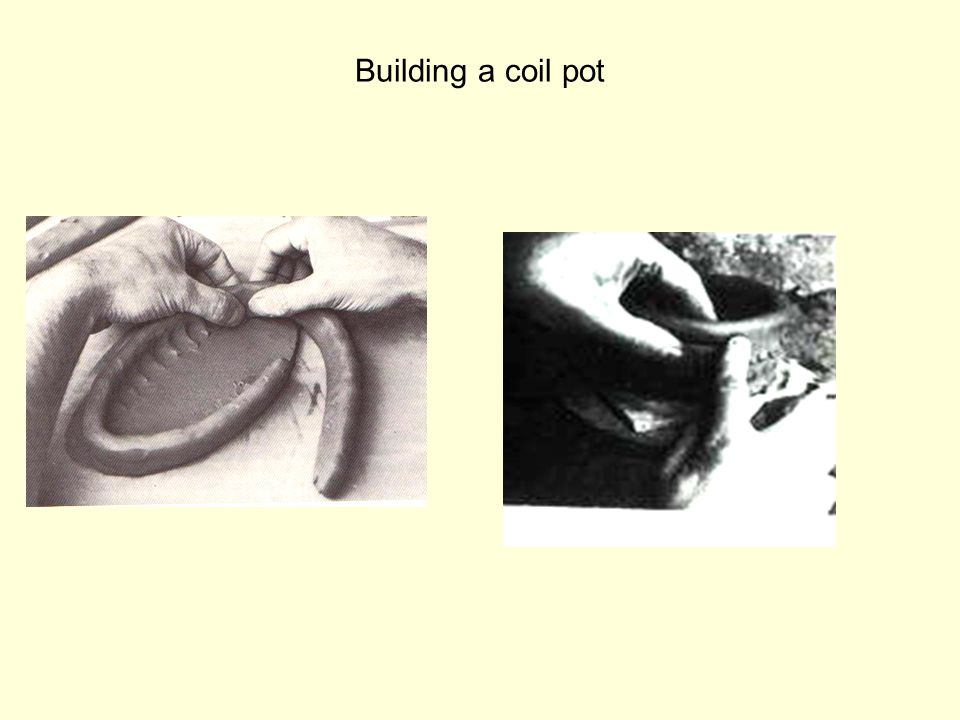 Building a coil pot
