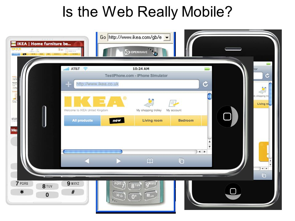 Is the Web Really Mobile?