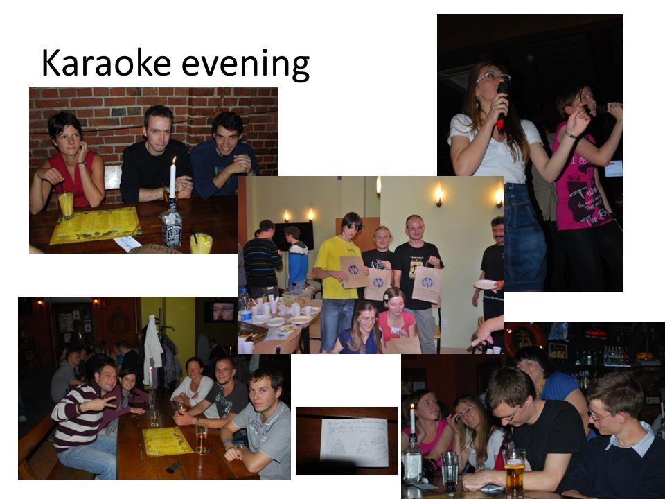 Karaoke evening