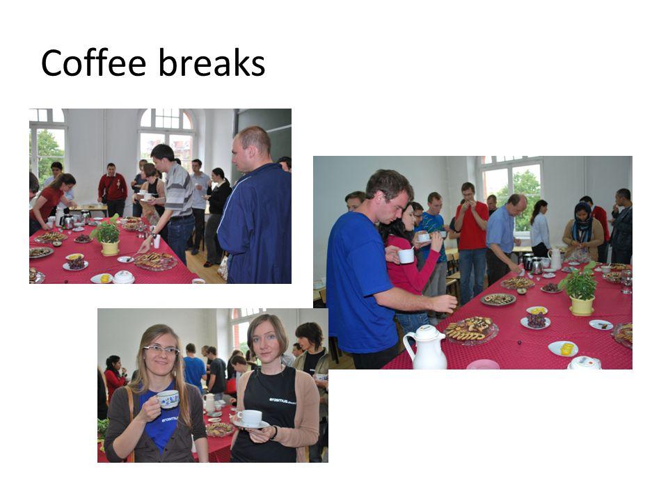 Coffee breaks