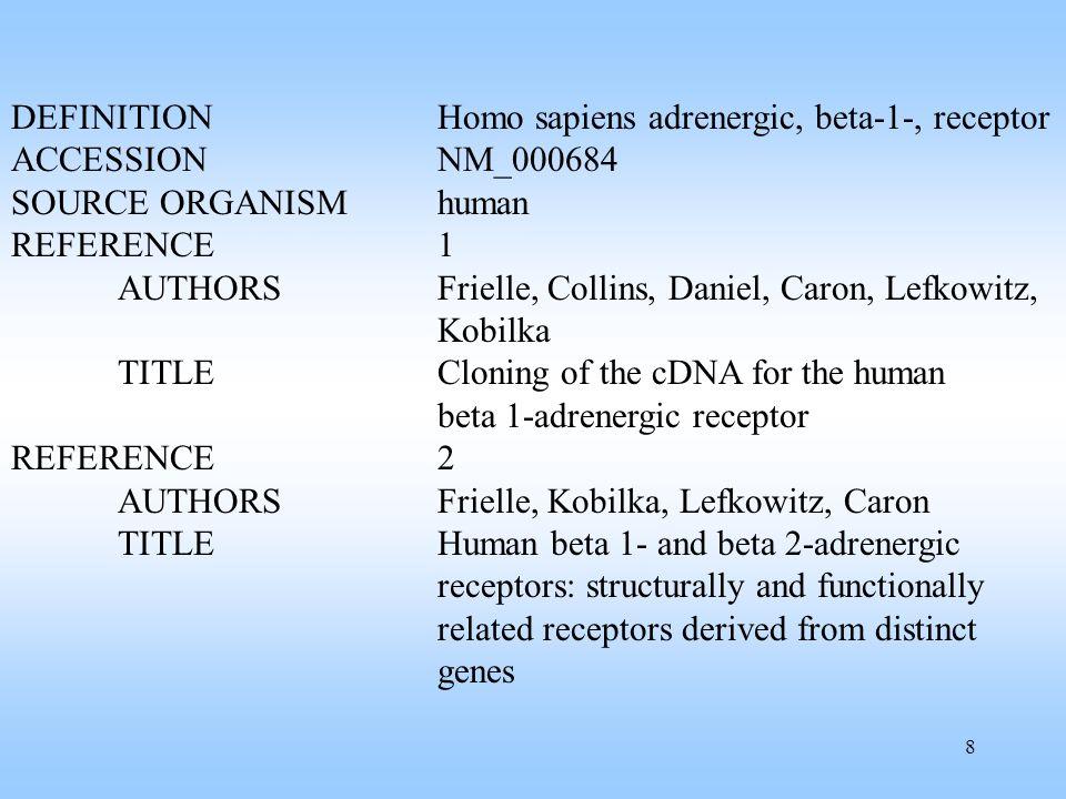 39 Literature Baeza-Yates, R., Ribeiro-Neto, B., Modern Information Retrieval, Addison-Wesley, 1999.