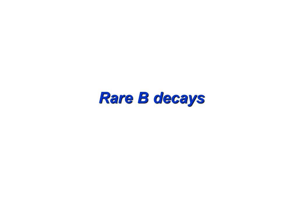 Rare B decays