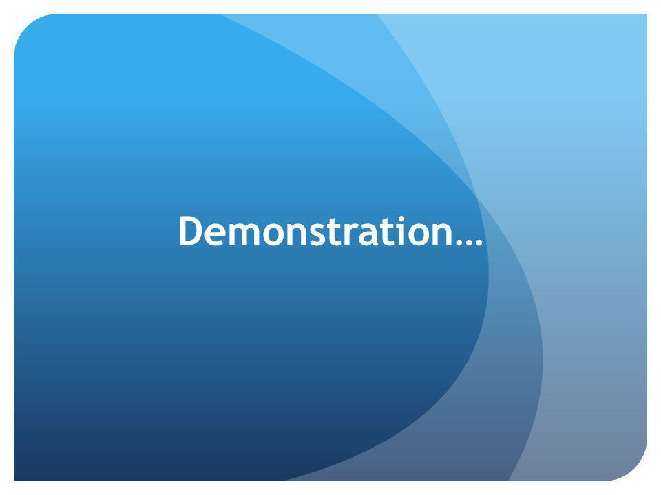 Demonstration…
