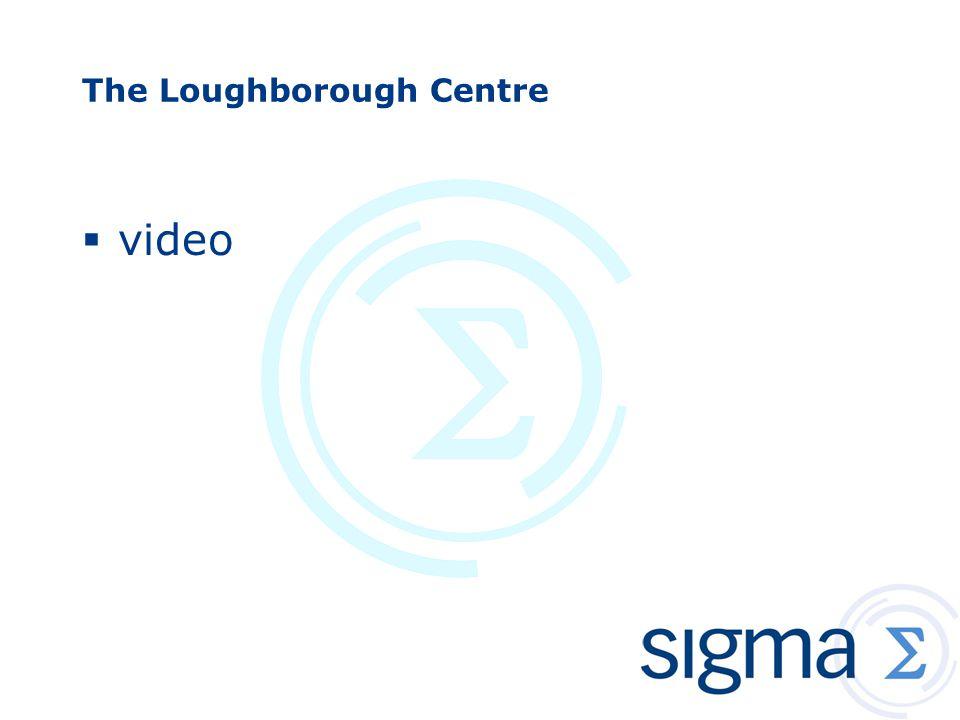 The Loughborough Centre  video