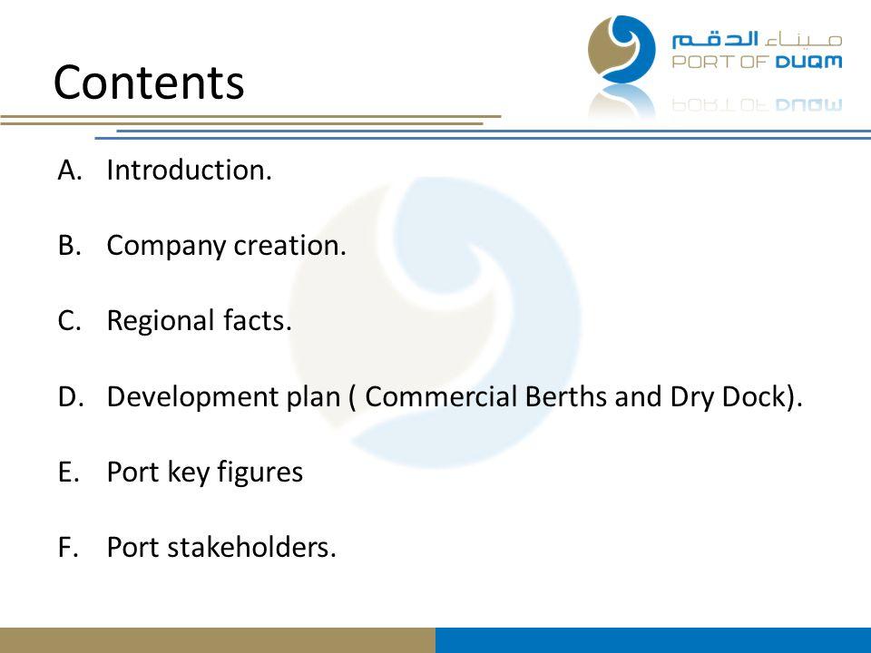 Thank you very much Shukran Port of Duqm Company peter.broers@portduqm.com