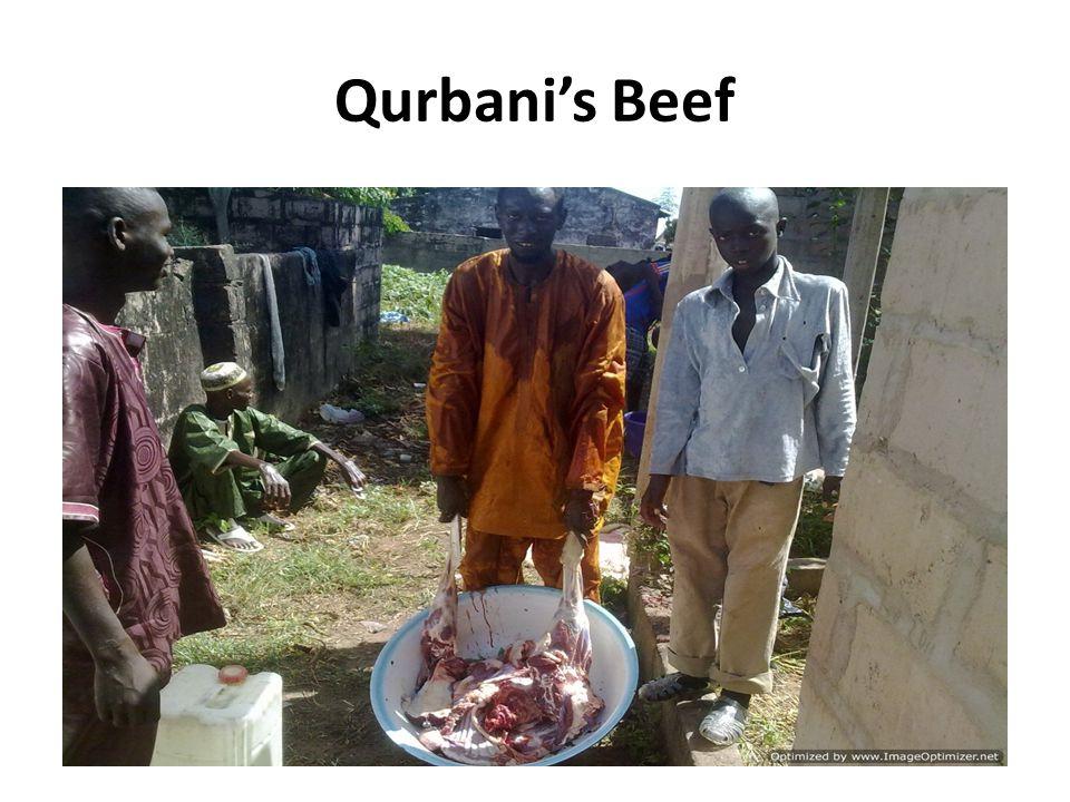 Qurbani's Beef