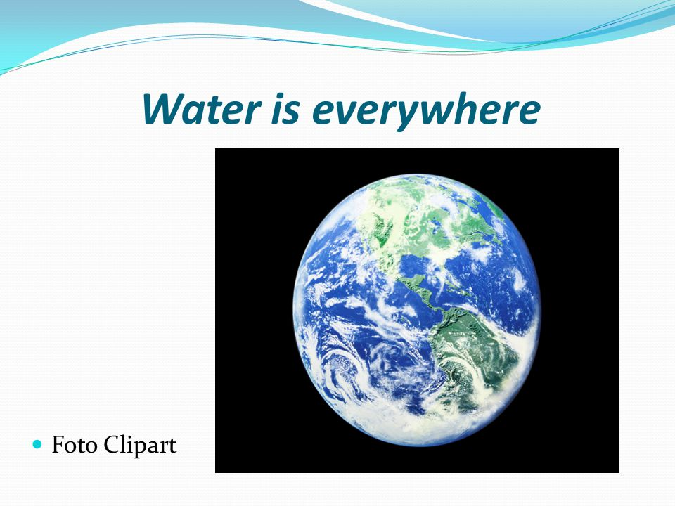 We can do a lot of things with water. Like electricity Foto Clipart