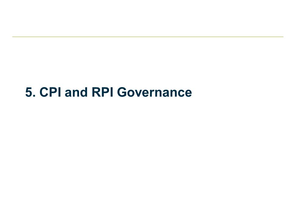 5. CPI and RPI Governance