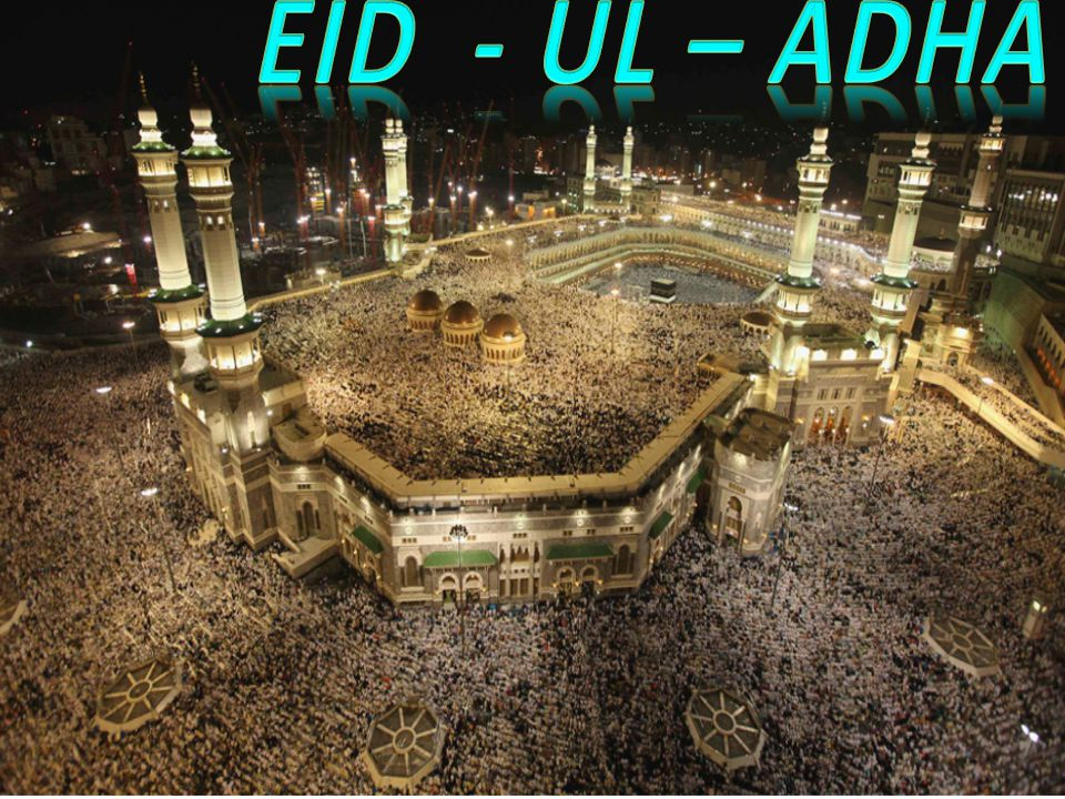 Eid ul Adha: The Festival of Sacrifice Remember the sacrifice of Ibrahim (Abraham) Celebrate the end of the Hajj Sacrifice an animal Share food and give to charity