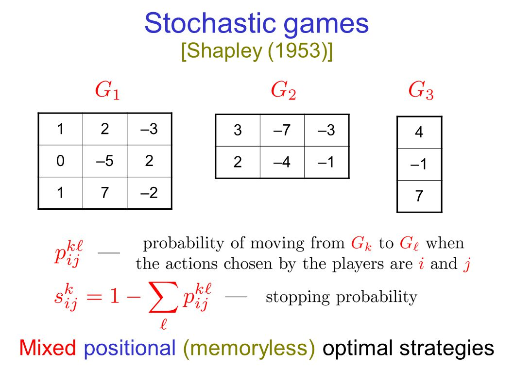Parity Games (PGs) EVEN 3 ODD 8 EVEN wins if largest priority seen infinitely often in even Equivalent to many interesting problems in automata and verification: Non-emptyness of  -tree automata modal  -calculus model checking Priorities