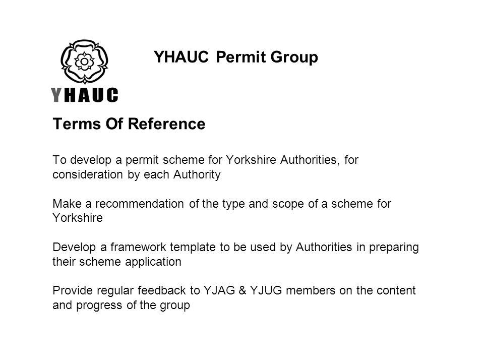 YHAUC Permit Group
