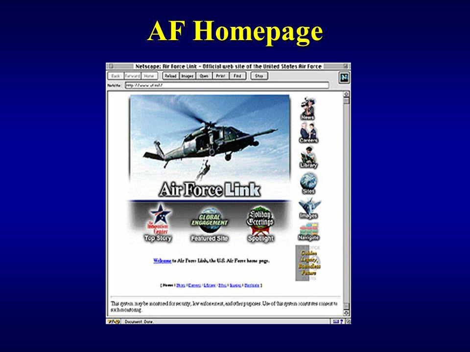 AF Homepage