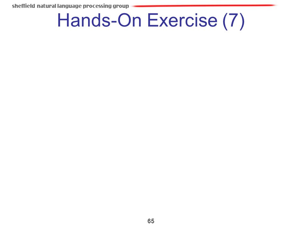 65 Hands-On Exercise (7)