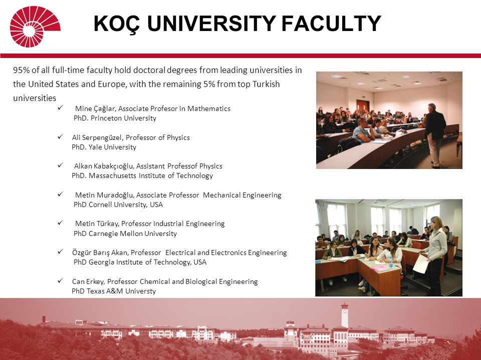 KU is positioned as an excellent research partner in terms of funding research projects in collaboration with national and international public and private institutions (universities, European Commission, public agencies, research and development agencies, business world, and industrial corporations) for research projects.