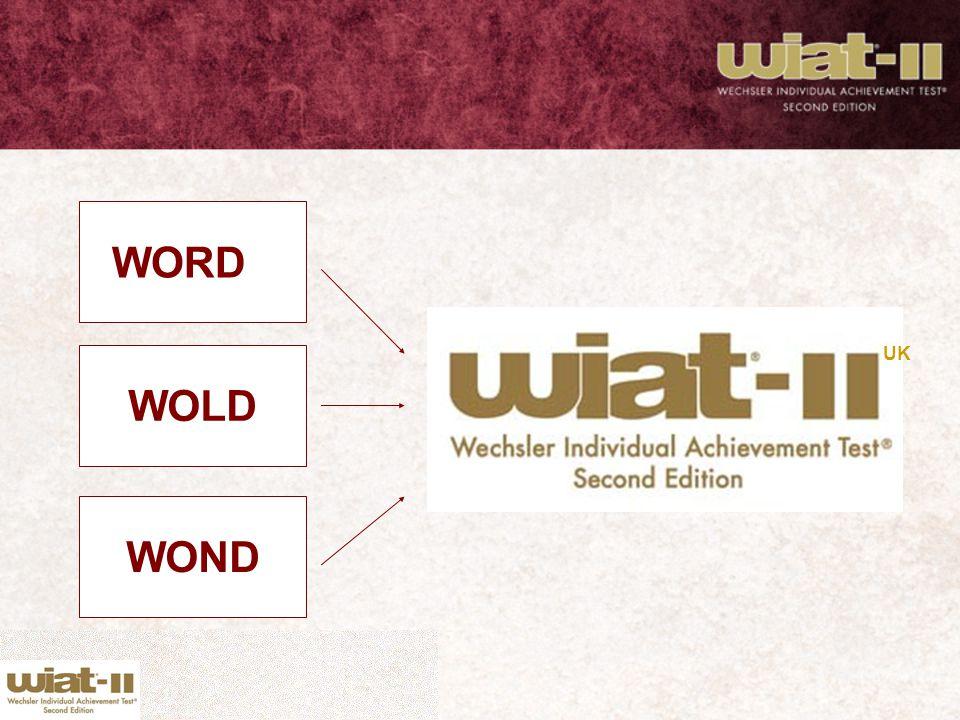 WORD WOLD WOND UK