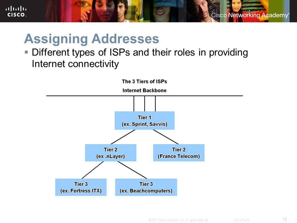18 © 2007 Cisco Systems, Inc.