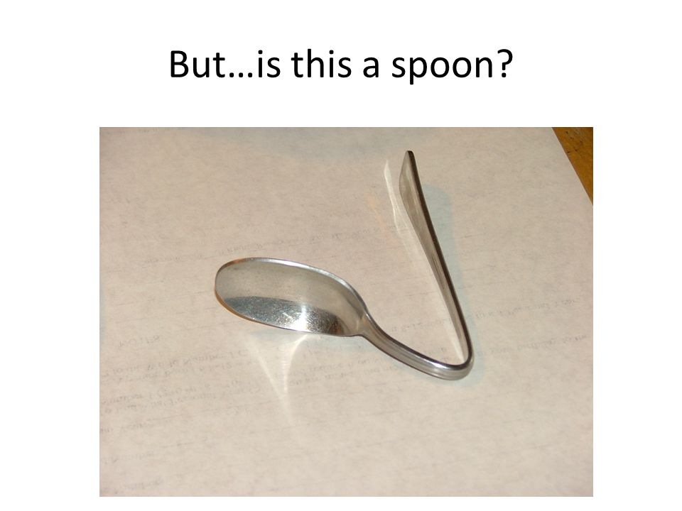 But…is this a spoon