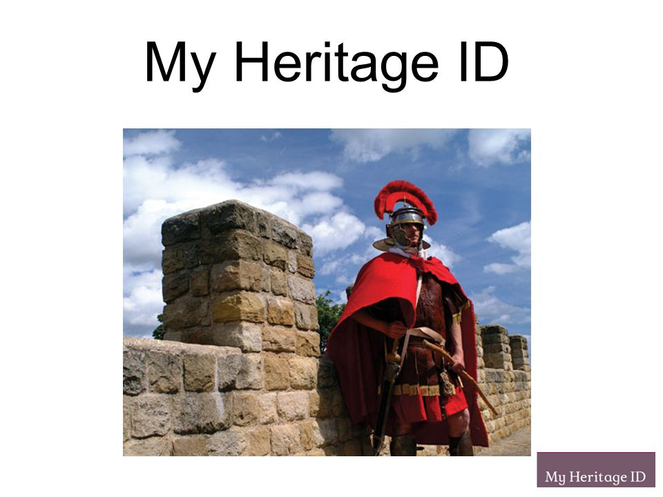 My Heritage ID