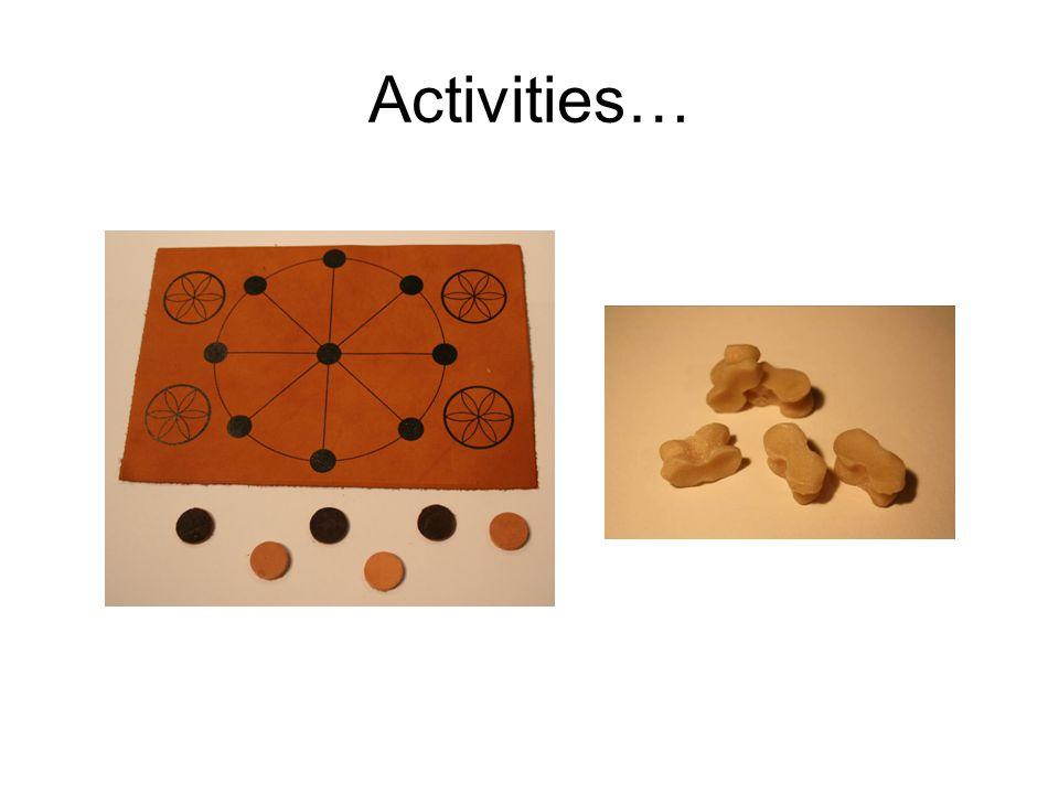 Activities…