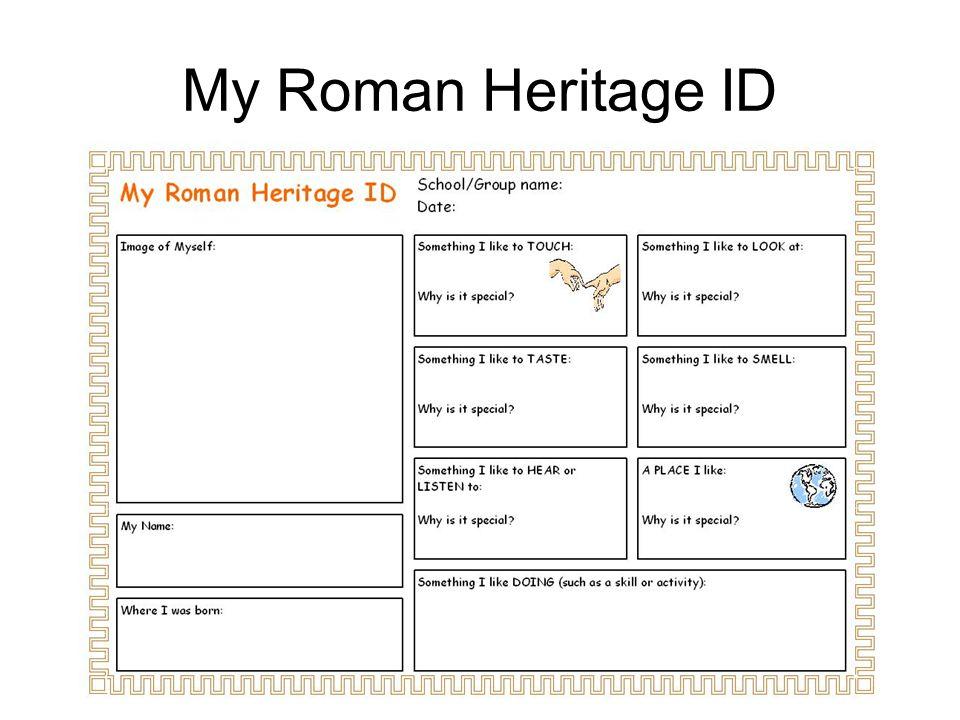 My Roman Heritage ID