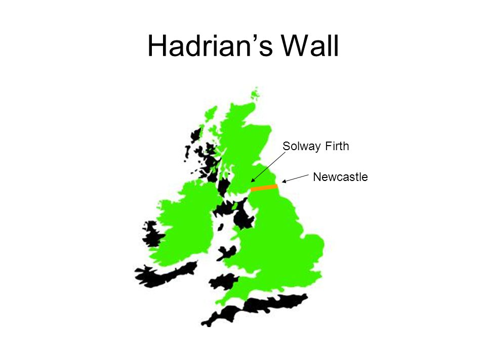 Hadrian's Wall Newcastle Solway Firth
