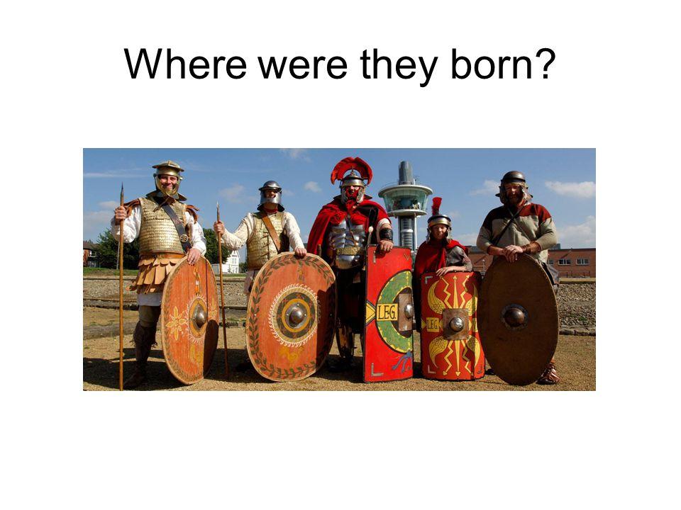 Where were they born