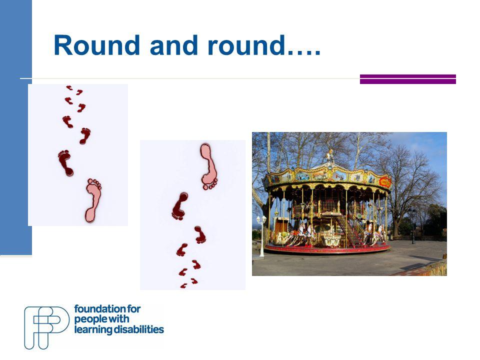 Round and round….