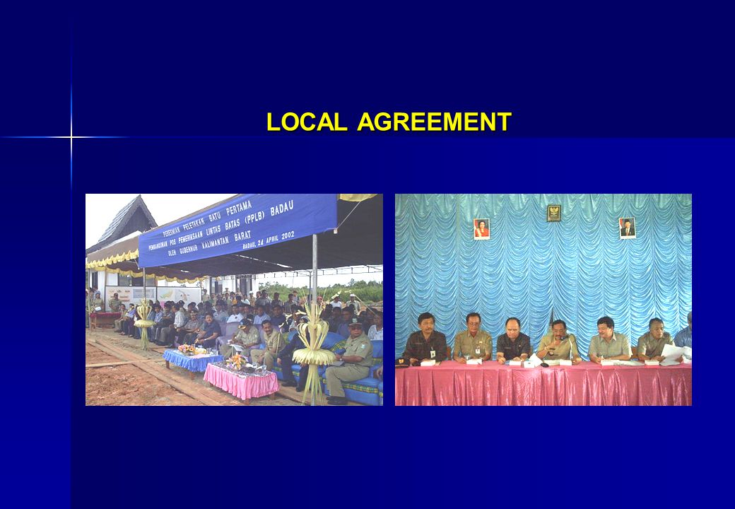 LOCAL AGREEMENT