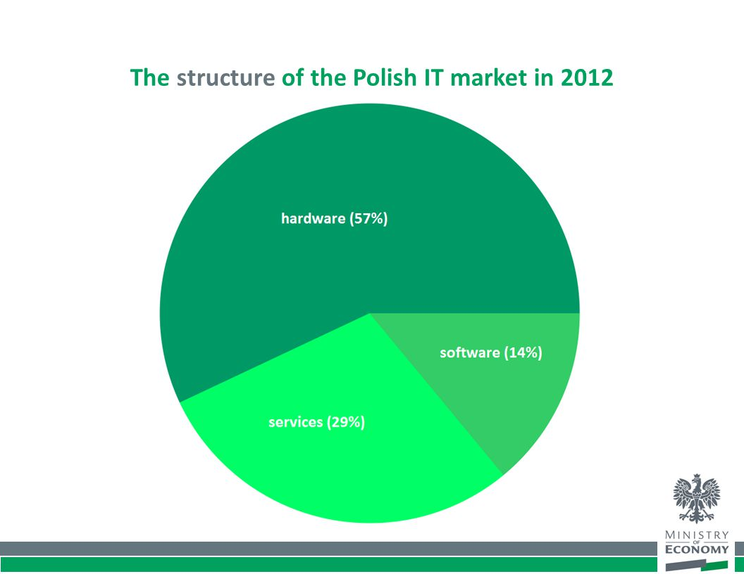 The structure of the Polish IT market in 2012