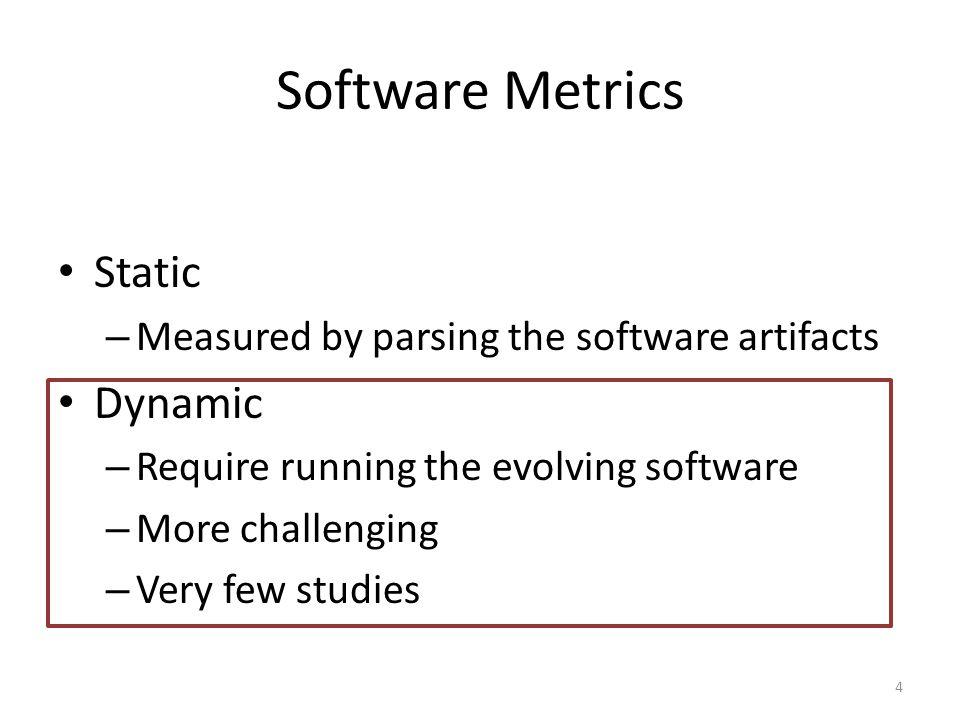 Data mining infrastructure Empirical case study 15