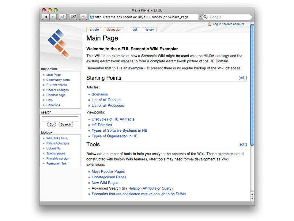 Semantic Media Wiki