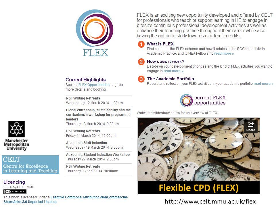 http://www.celt.mmu.ac.uk/flex