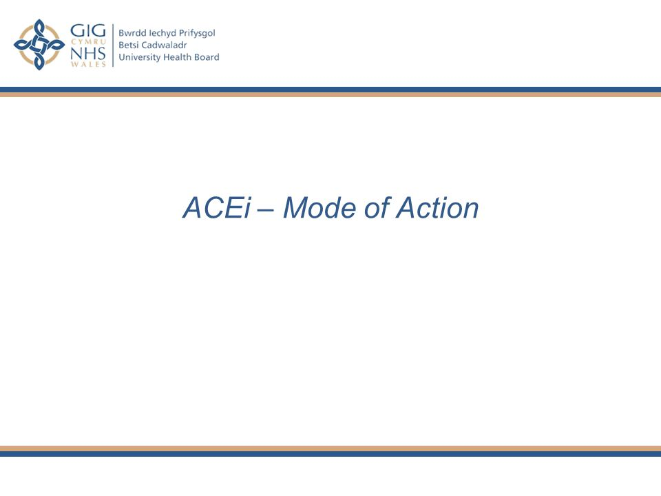 ACEi – Mode of Action