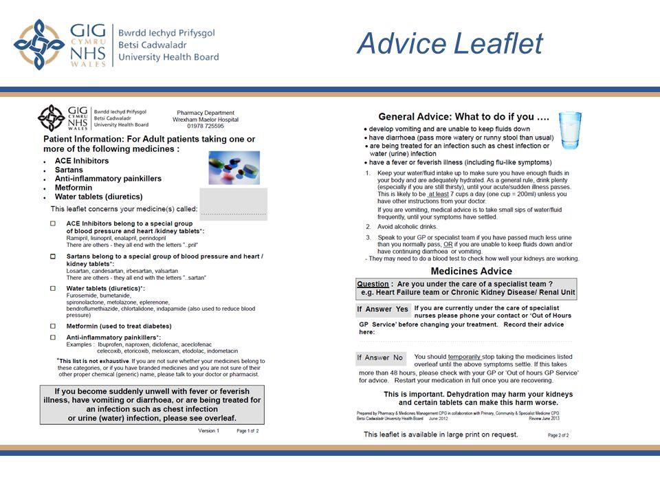 Advice Leaflet