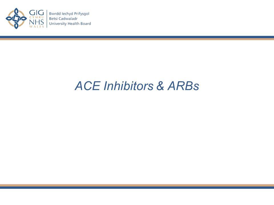 ACE Inhibitors & ARBs