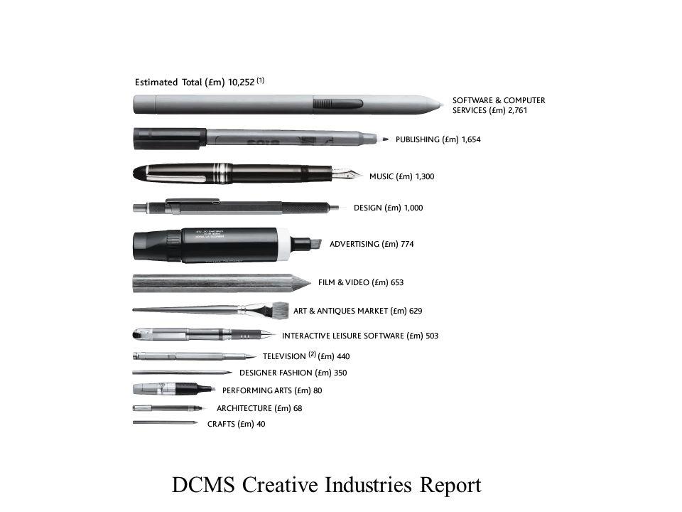 DCMS Creative Industries Report