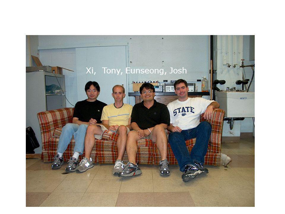 Xi, Tony, Eunseong, Josh
