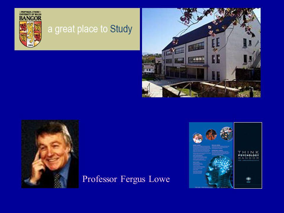 Professor Fergus Lowe
