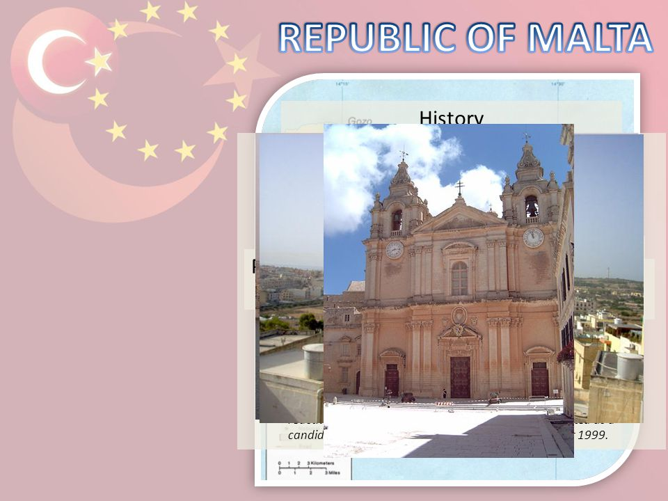 Lawrence Gonzi, Prime Minister of Malta Religions: The religion of Malta is the Roman Catholic apostolic religion. Currency: Euro (EUR) Capital: Valle