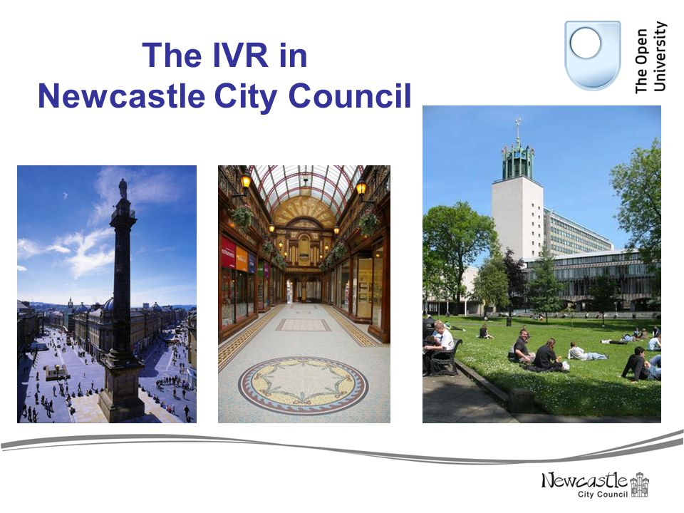 The IVR in Newcastle City Council