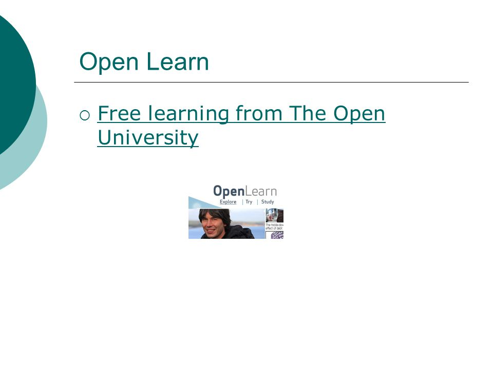 Open Learn  Free learning from The Open University Free learning from The Open University