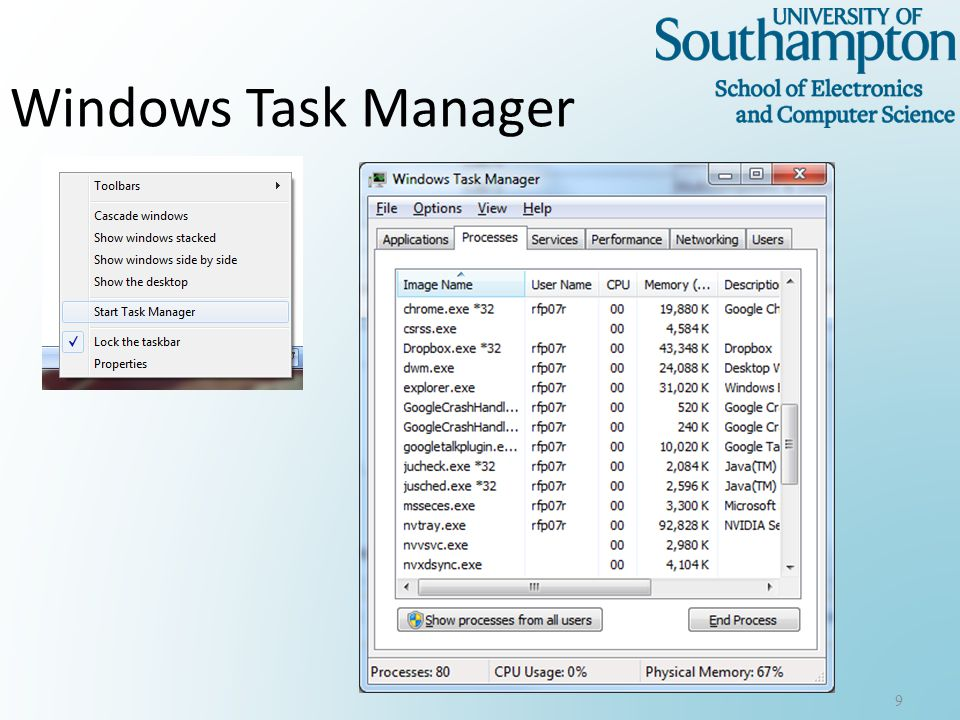 Windows Task Manager 9