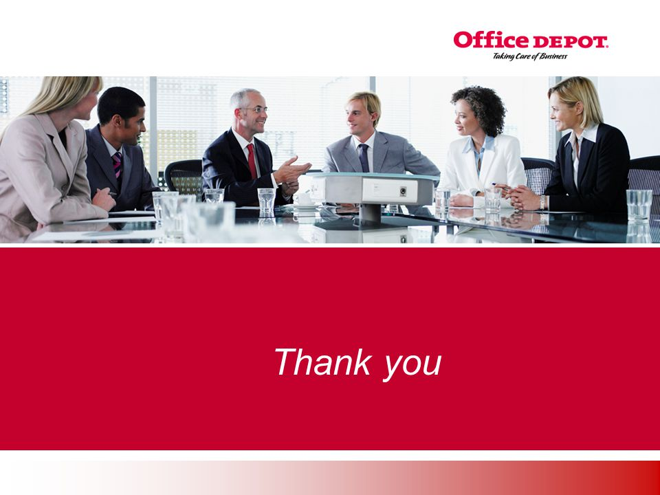 Office Solutions Thank you