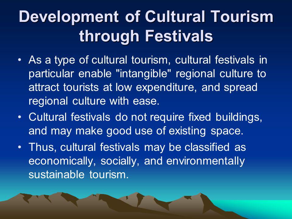 Cultural Tourism Festivals