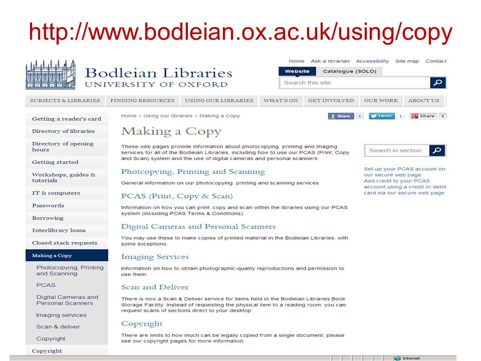 http://www.bodleian.ox.ac.uk/using/copy