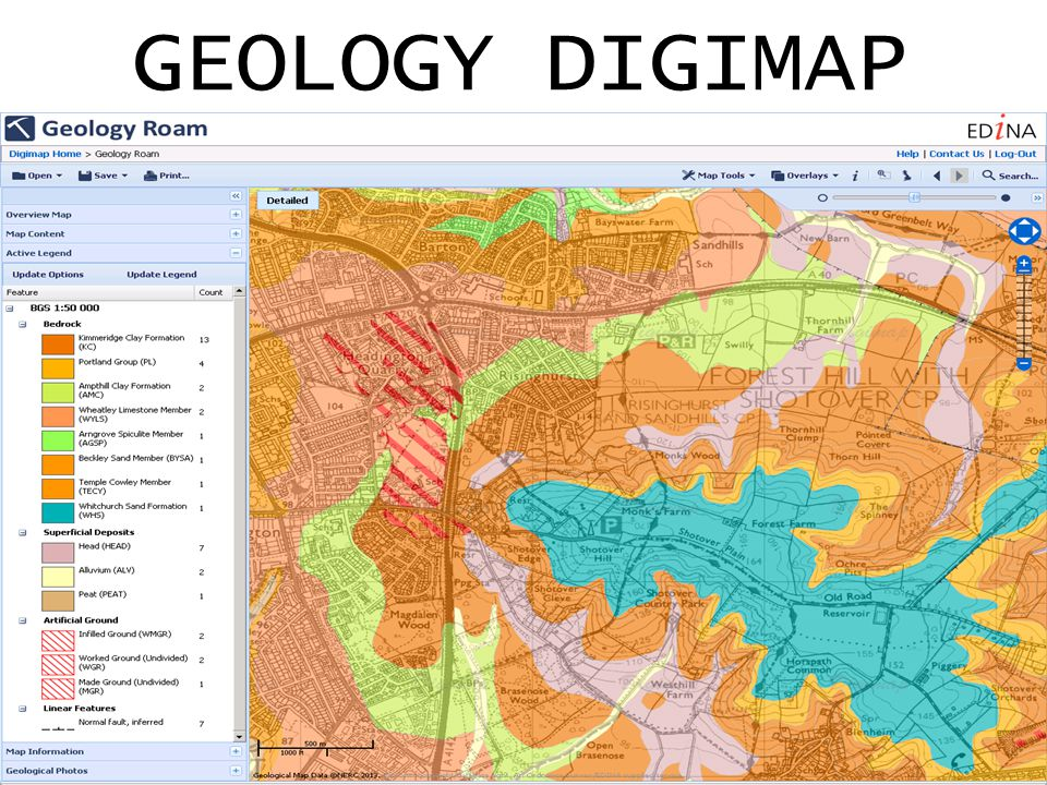 GEOLOGY DIGIMAP