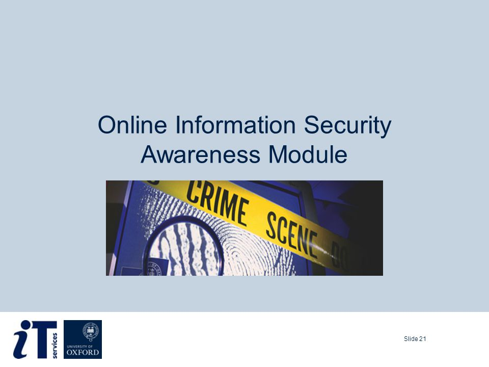 Slide 21 Online Information Security Awareness Module