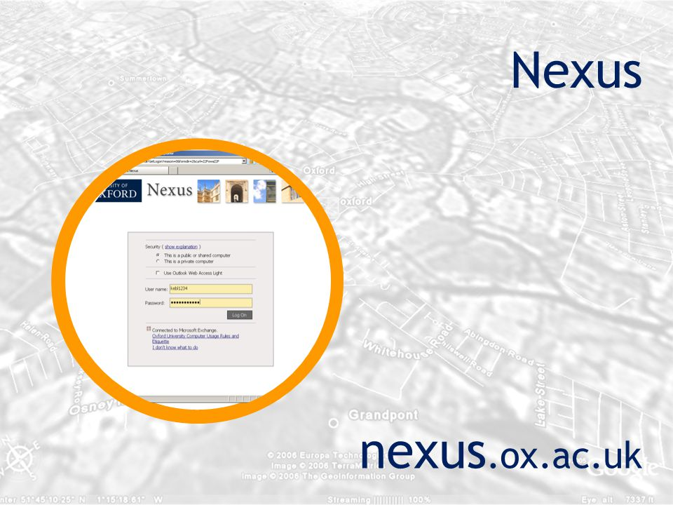 Nexus nexus.ox.ac.uk
