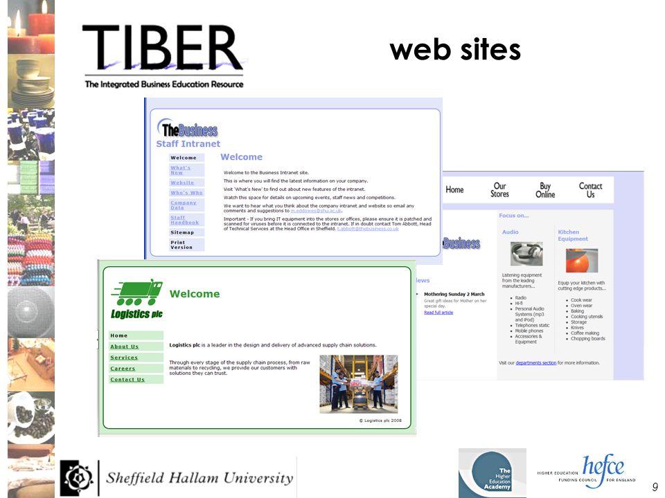 9 web sites
