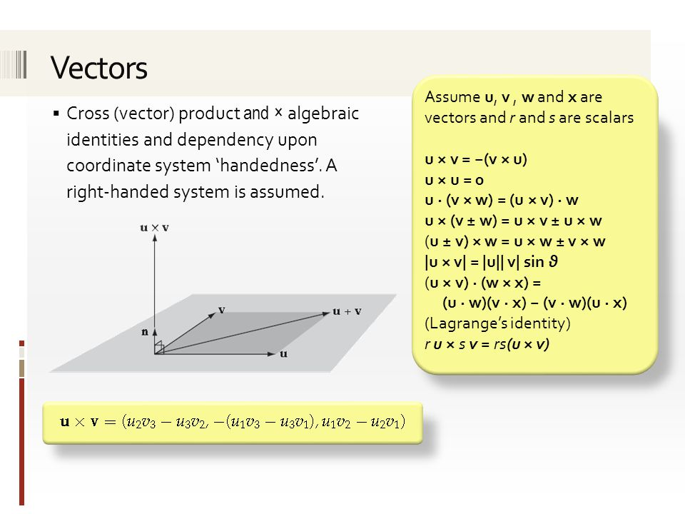 Miscellaneous mathematical aspects